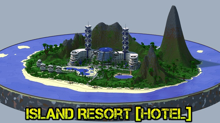 Photo of Minecraft – Island Resort Map