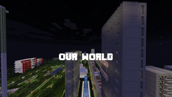 Photo of Minecraft – Our World Map