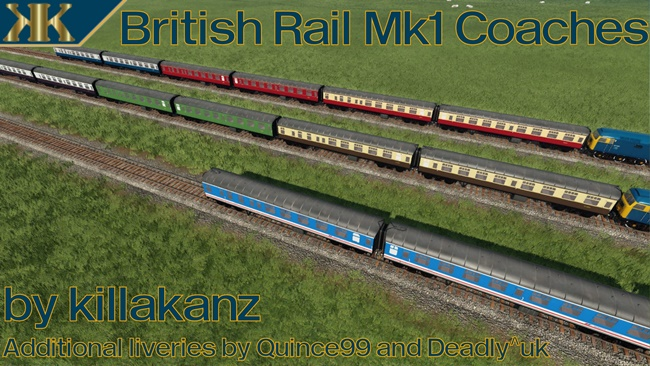 Photo of Transport Fever 2 – British Rail Mk 1 Coaches