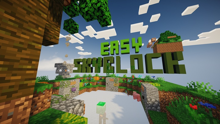 Photo of Minecraft – Easy SkyBlock Survival Map