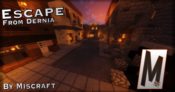 Photo of Minecraft – Escape from Dernia Puzzle Map (1.15)