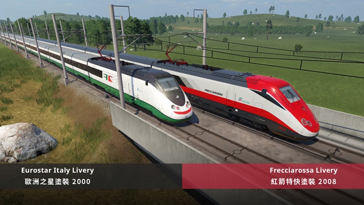 Photo of Transport Fever 2 – ETR500 (2nd Gen) Frecciarossa & Eurostar Italy