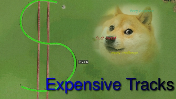 Photo of Transport Fever – Expensive Tracks