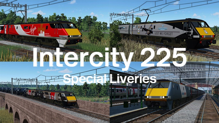 Photo of Transport Fever – Intercity 225 – Class 91 Special Liveries Pack