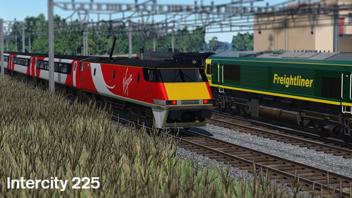 Photo of Transport Fever – Intercity 225 – Virgin Trains East Coast Pack
