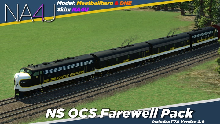 Photo of Transport Fever – Norfolk Southern OCS 'Farewell Pack'