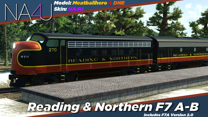 Photo of Transport Fever – Reading & Northern F7 A-B Pack
