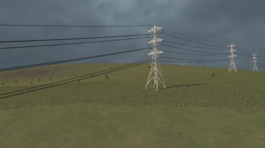 Photo of Cities: Skylines – 275 kV L2 Transmission Line