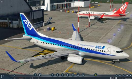 Photo of Transport Fever 2 – All Nippon Airways Boeing 737-700