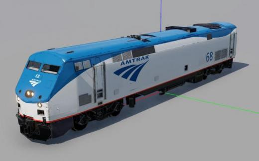 Photo of Transport Fever 2 – Amtrak P42 Phase V