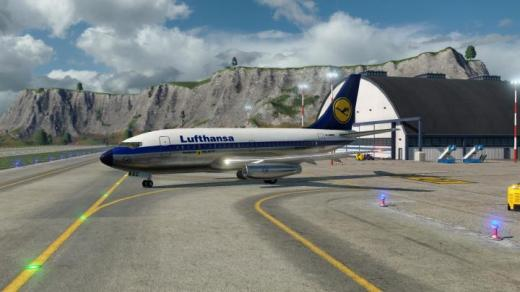Photo of Transport Fever 2 – Boeing 737-100 Lufthansa