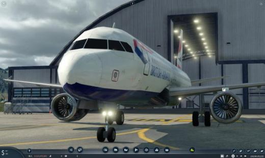 Photo of Transport Fever 2 – British Airways Airbus A320