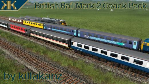 Photo of Transport Fever 2 – British Rail Mk 2 Coaches