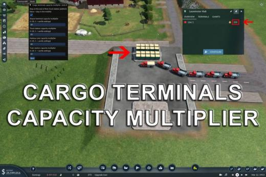 Photo of Transport Fever 2 – Cargo Terminals Capacity Multiplier