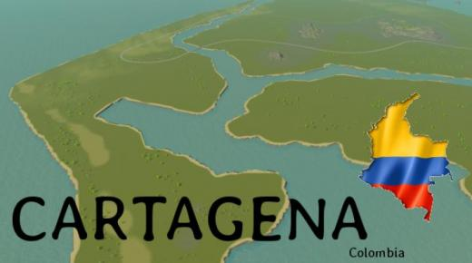 Photo of Cities: Skylines – Cartagena Colombia Map