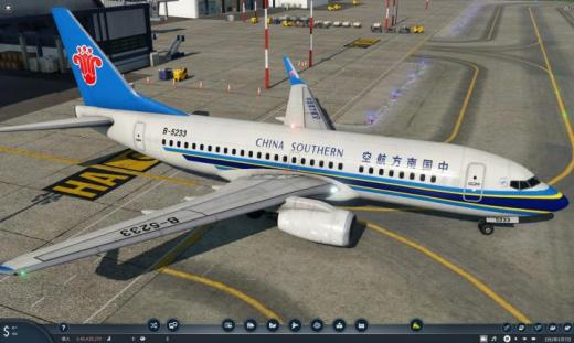 Photo of Transport Fever 2 – China Southern Boeing 737-700