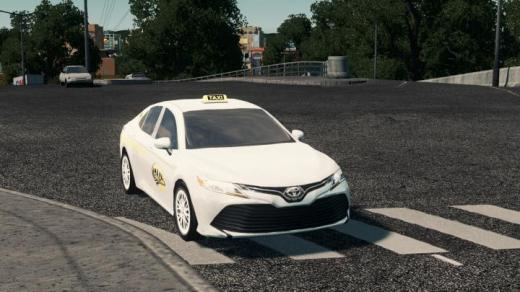 Photo of Cities: Skylines – City Cab 2019 Toyota Camry Taxi