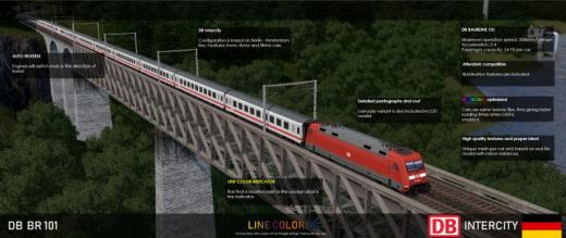 Photo of Cities: Skylines – DB BR 101 – Intercity (12Cars)