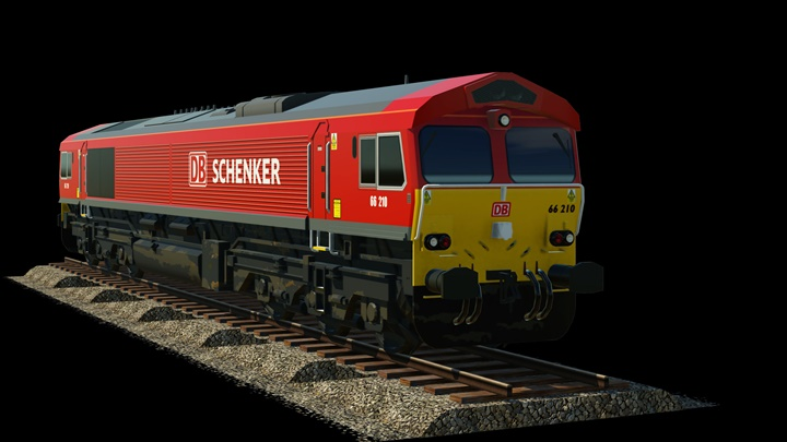 Photo of Transport Fever – Loco DB Shenker EMD Class 66