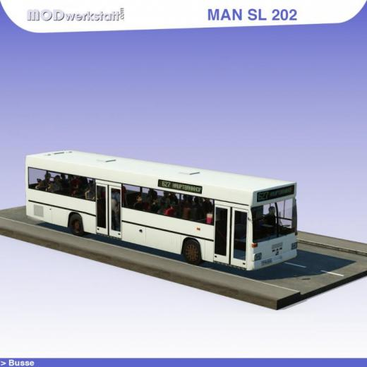 Photo of Transport Fever 2 – Man SL 202