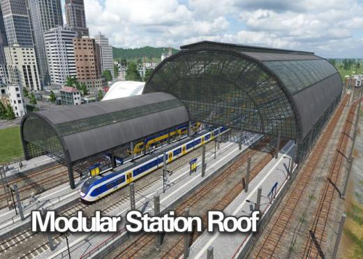 Photo of Transport Fever 2 – Modular Station Roof