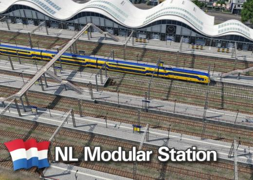 Photo of Transport Fever 2 – NL Modular Station