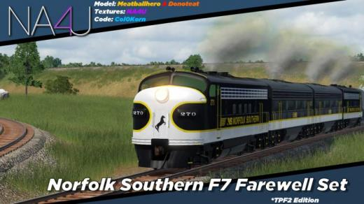 Photo of Transport Fever 2 – Norfolk Southern F7 OCS Farewell Pack