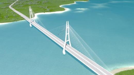 Photo of Cities: Skylines – Ocean Diamond Bridge