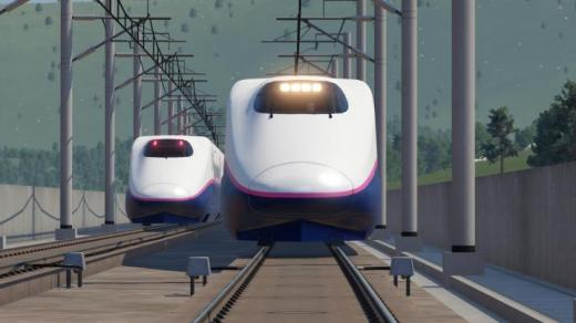 Photo of Transport Fever 2 – Shinkansen E2 Series