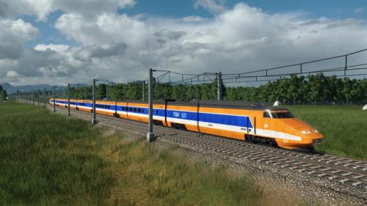Photo of Transport Fever 2 – TGV PSE 88