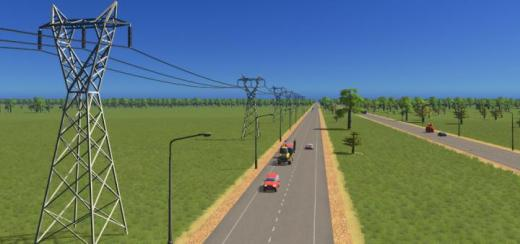 Photo of Cities: Skylines – Transmission Tower Type 3