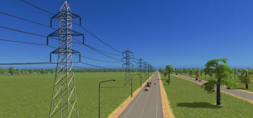 Photo of Cities: Skylines – Transmission Tower Type 4