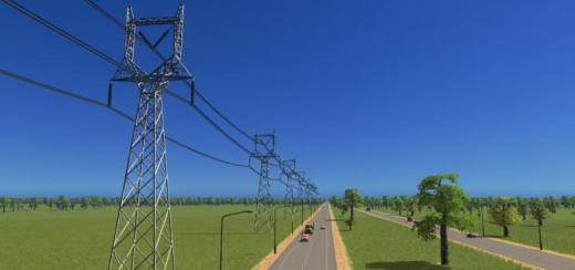 Photo of Cities: Skylines – Transmission Tower Type 5
