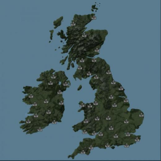 Photo of Transport Fever 2 – UK and Ireland Map – Megalomaniac