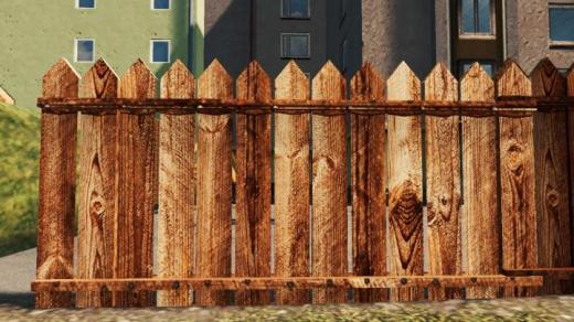 Photo of Cities: Skylines – Wooden Fence