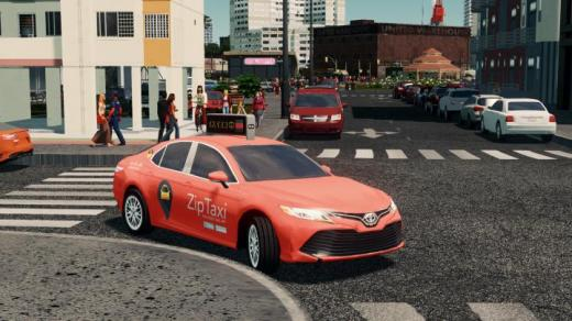 Photo of Cities: Skylines – ZipTaxi 2019 Toyota Camry