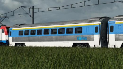 Photo of Transport Fever 2 – Addon Korail Saemaul Express Wagon