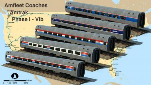 Photo of Transport Fever 2 – Amfleet Coaches & Amtrak Phase I-IVb