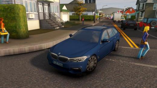 Photo of Cities: Skylines – BMW 5-Series Touring (G31) M Sport