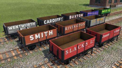 Photo of Transport Fever 2 – British Private Owners Open Waggons Addon