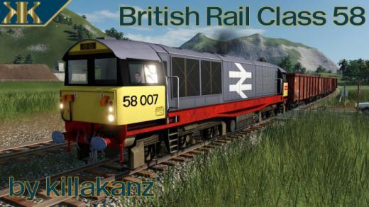 Photo of Transport Fever 2 – British Rail Class 58