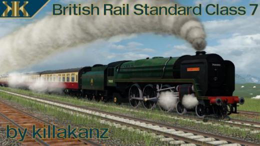 Photo of Transport Fever 2 – British Rail Standard Class 7