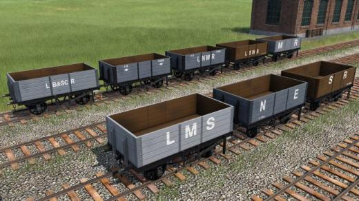 Photo of Transport Fever 2 – British Railway Companies Open Waggons Addon