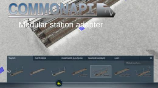 Photo of Transport Fever 2 – CommonAPI2 – Modular Rail Station Adapter