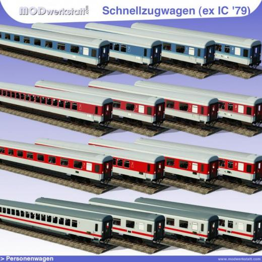 Photo of Transport Fever 2 – DB Express Train Coaches Modern, Ex IC