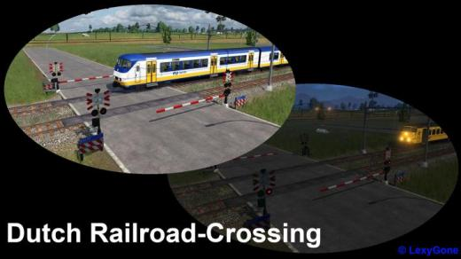Photo of Transport Fever 2 – Dutch Railroad Crossing