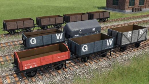 Photo of Transport Fever 2 – GWR Open Waggons