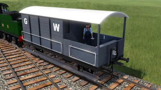 Photo of Transport Fever 2 – GWR Toad Brake Van