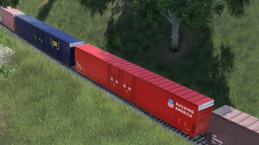 Photo of Transport Fever 2 – Modern Autoparts Boxcar