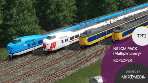 Photo of Transport Fever 2 – NS ICM Koploper: Livery Pack